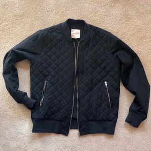 Thread & Supply quilted bomber jacket, EUC!